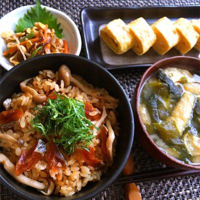 鮭とばレシピ 炊き込みご飯