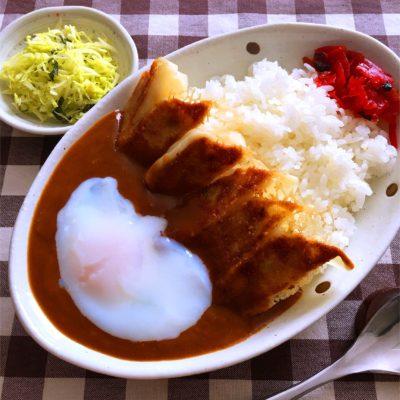 みよしの餃子レシピ 餃子カレー