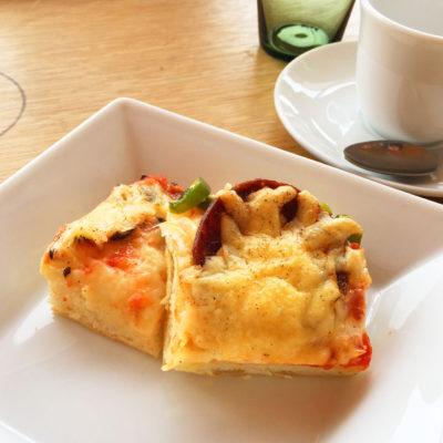 パン教室 フォカッチャのピザ風