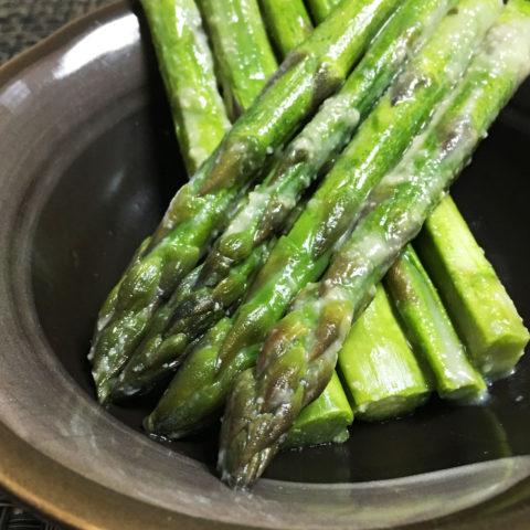 旬の北海道美瑛産のアスパラガス アスパラガスの味噌漬け