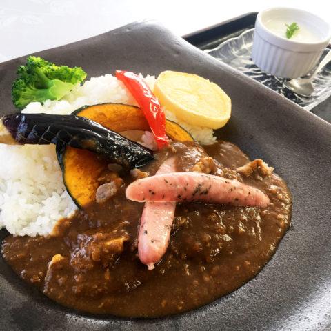 上富良野 フラヌイ温泉 かみふらの豊味豚カレー