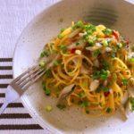 旬のニシン|調味料なし、ニシン切り込みの簡単パスタ