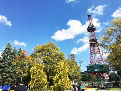 札幌大通公園 テレビ塔