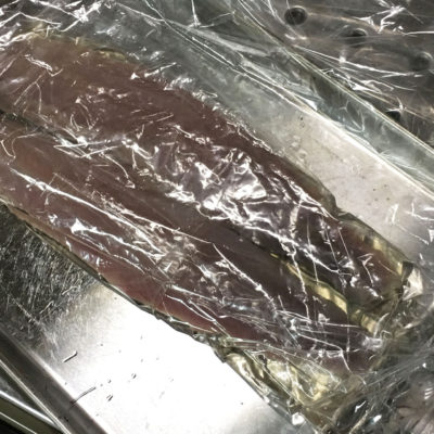 北海道産鰊 ニシンの酢じめ