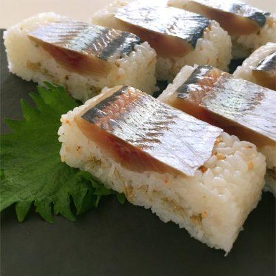 北海道産 生ニシン(鰊) 押し寿司