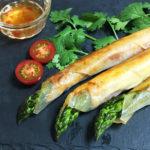 旬のアスパラガス|巻くだけ簡単、パリパリ食感のアスパラ春巻き